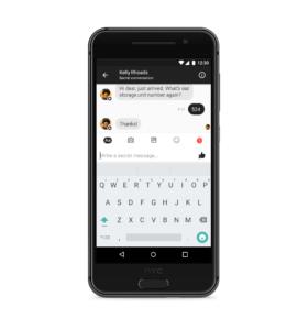 Secret Conversation — Android — Scenario 2