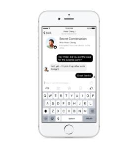 Secret Conversation — iOS — Scenario 1