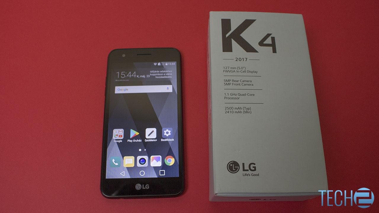 LG K4 2017 teszt - nem látható fejlődés - Tech2 hu