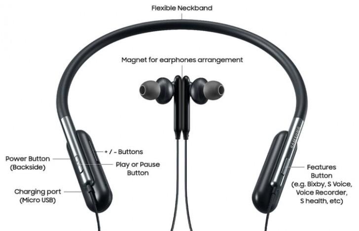 Bemutatkozott a Samsung U Flex hajlítható Bluetooth fülhallgató