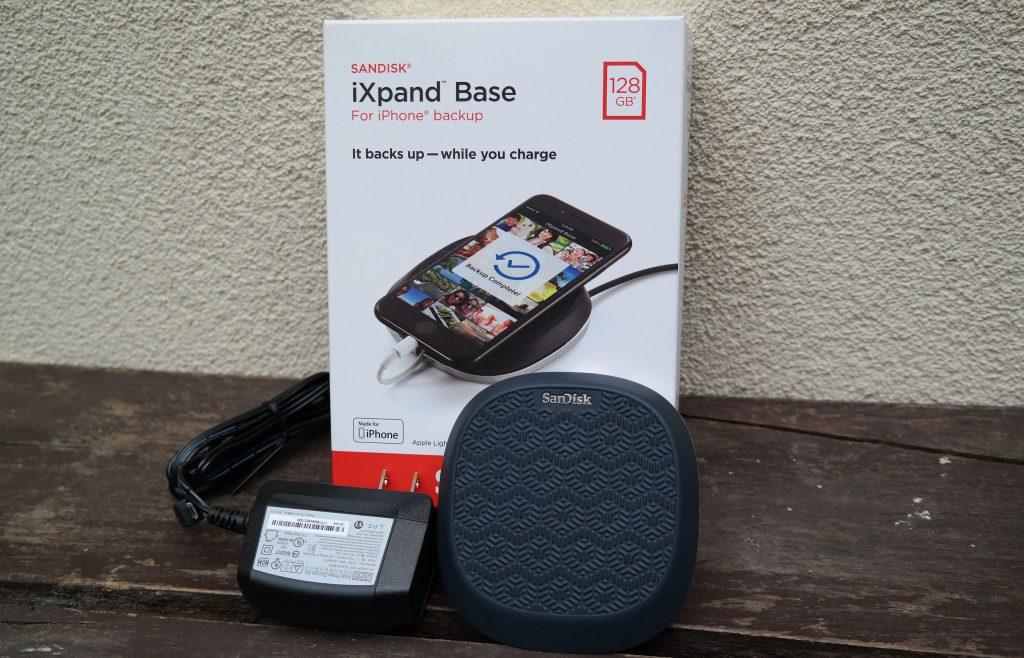 SanDisk iXpand Base teszt – biztonsági mentés iPhone-ról