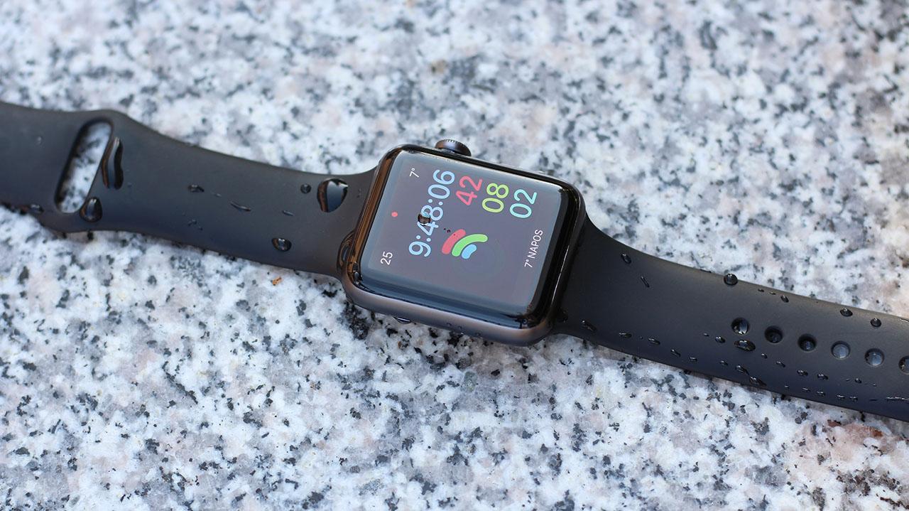 Az Apple Watch Series 3 ugyanúgy vízálló 50 méteres mélységig 34e00ac945