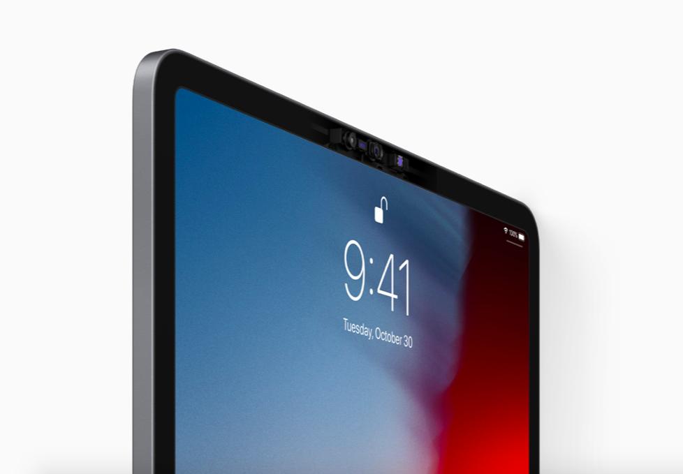 5d5cf8681af7 Az iPhone XS-ből és az iPhone XR-ből ismert Smart HDR funkciós, 12  megapixeles, 4K@60FPS felvételre képes kamerát kapott az új tablet, a 7  MP-es TureDepth ...