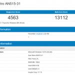 Acer Nitro 5 AN515 Geekbench (2)