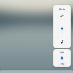 Így néz ki az Android 9-es hangerőszabályzója egy Google Pixelen