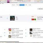 Apple Music iTunes keresés