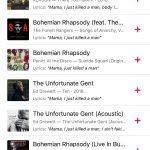 Apple Music keresés Queen (2)