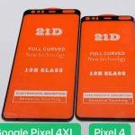 Google Pixel 4 előlap szivárgás