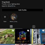 Instagram Sötét módban (4)