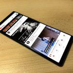 Sony Xperia 5 kijelző