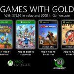 Xbox Live Gold augusztus ingyen játékok
