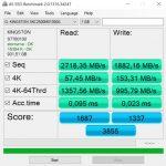 KC2500 as ssd benchmark
