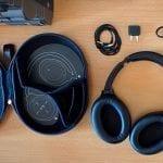 Sony WH1000XM4 doboz tartalma